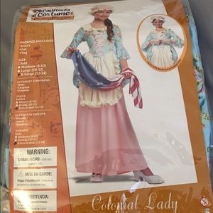 Girls Colonial Lady / Betsy Ross Costume